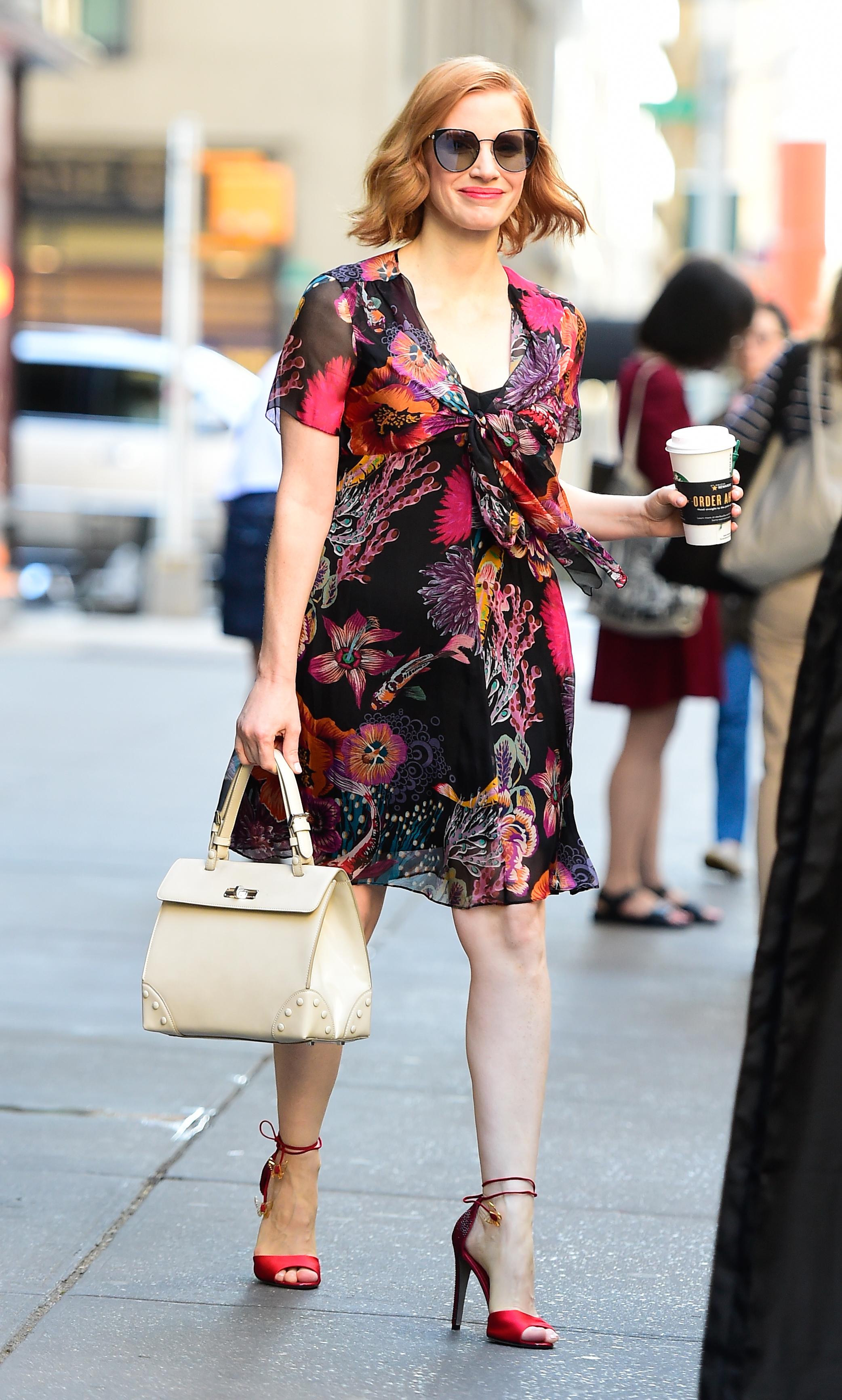 Jessica Chastain, looks,