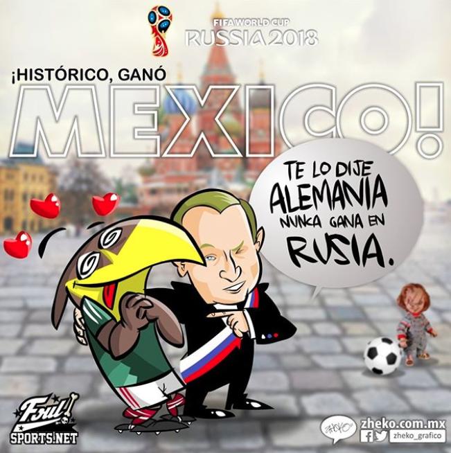 Memes Alemania vs. Mexico16