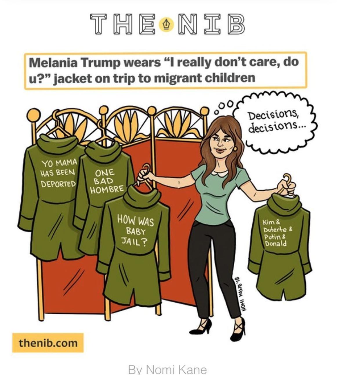 memes chaqueta melania18