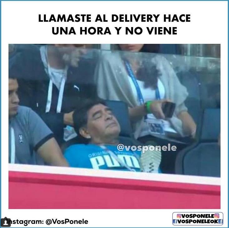 memes maradona mundial 201815