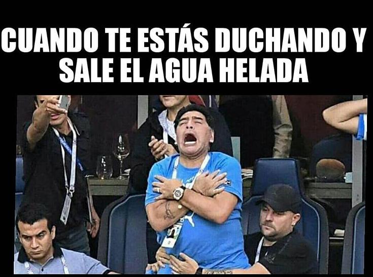 memes maradona mundial 201817