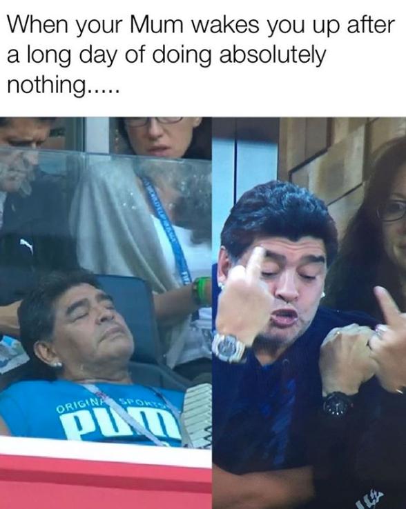 memes maradona mundial 201818