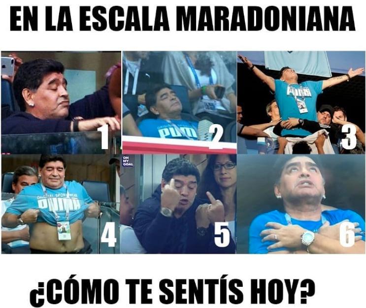 memes maradona mundial 201822