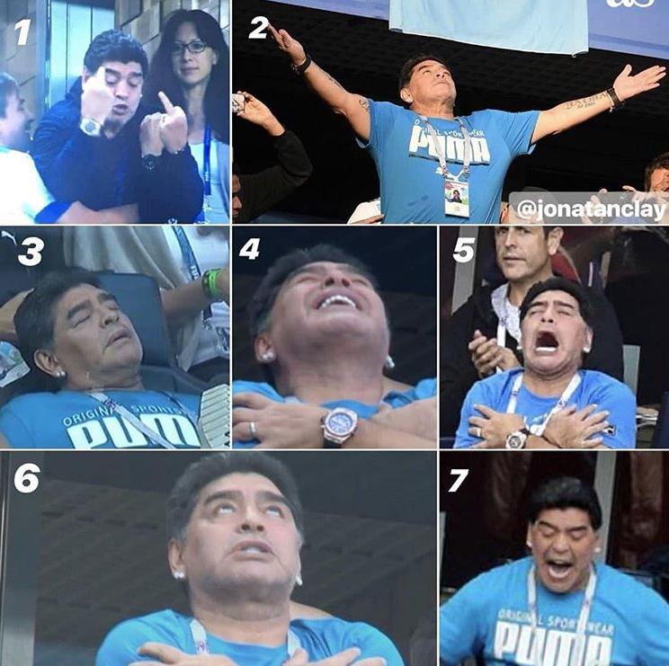 memes maradona mundial 201823