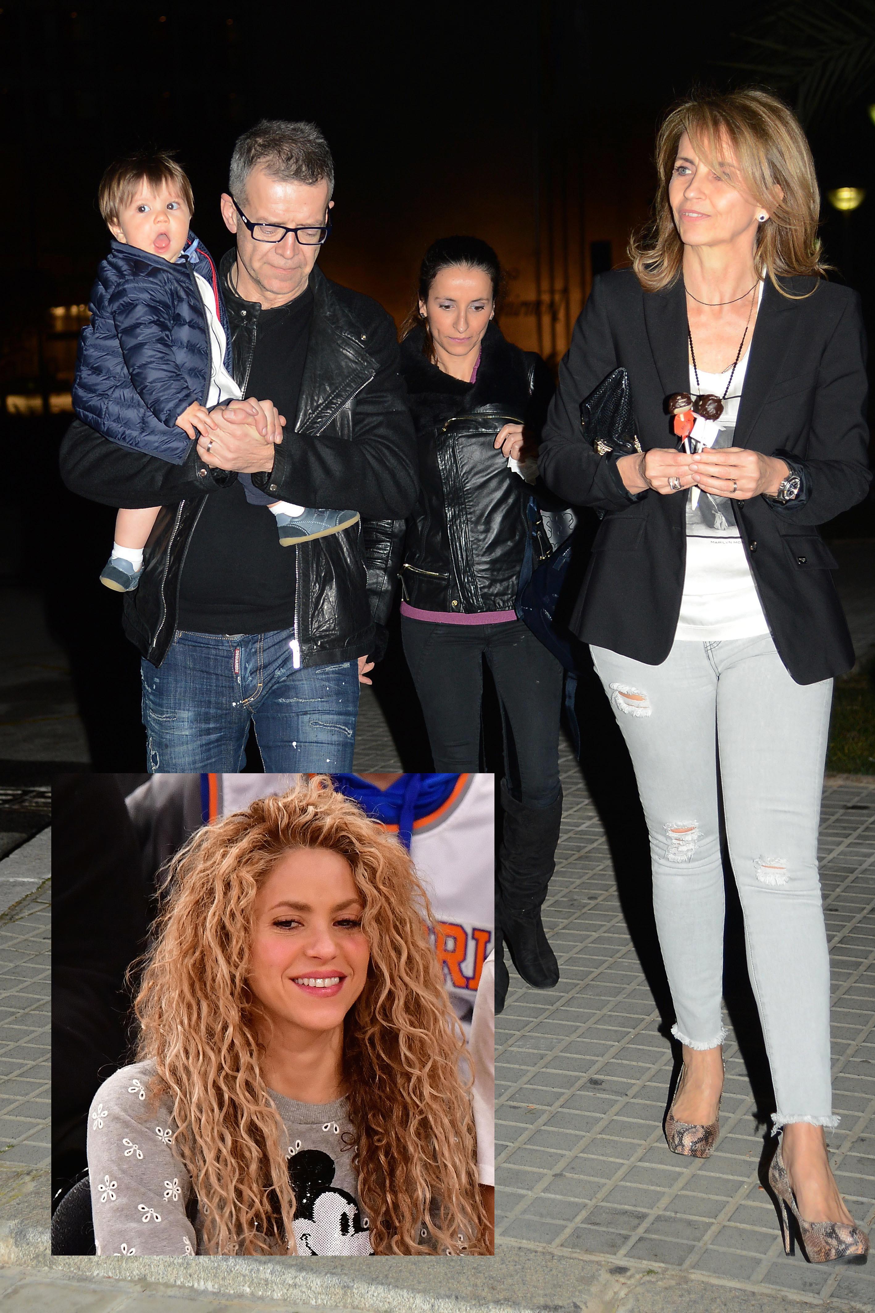 Montserrat Bernabéu y Shakira