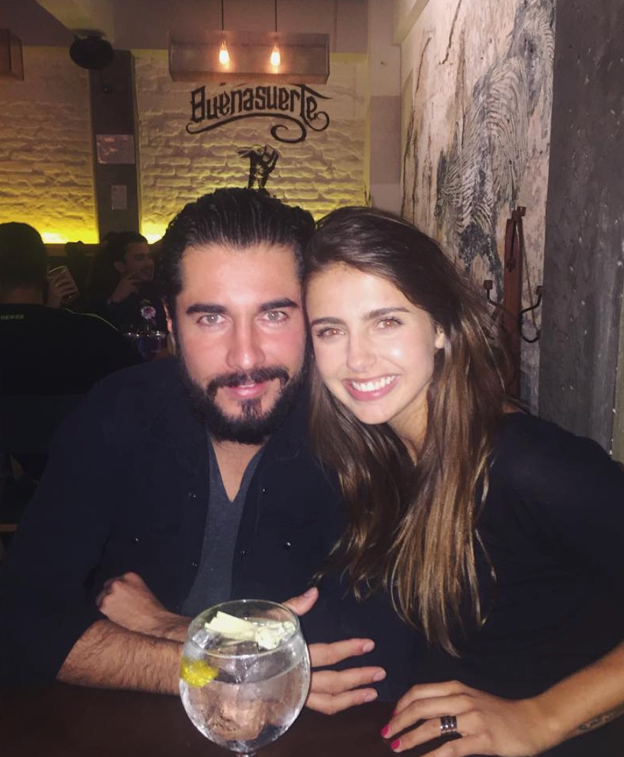 Michelle Renaud y Josué Alvarado