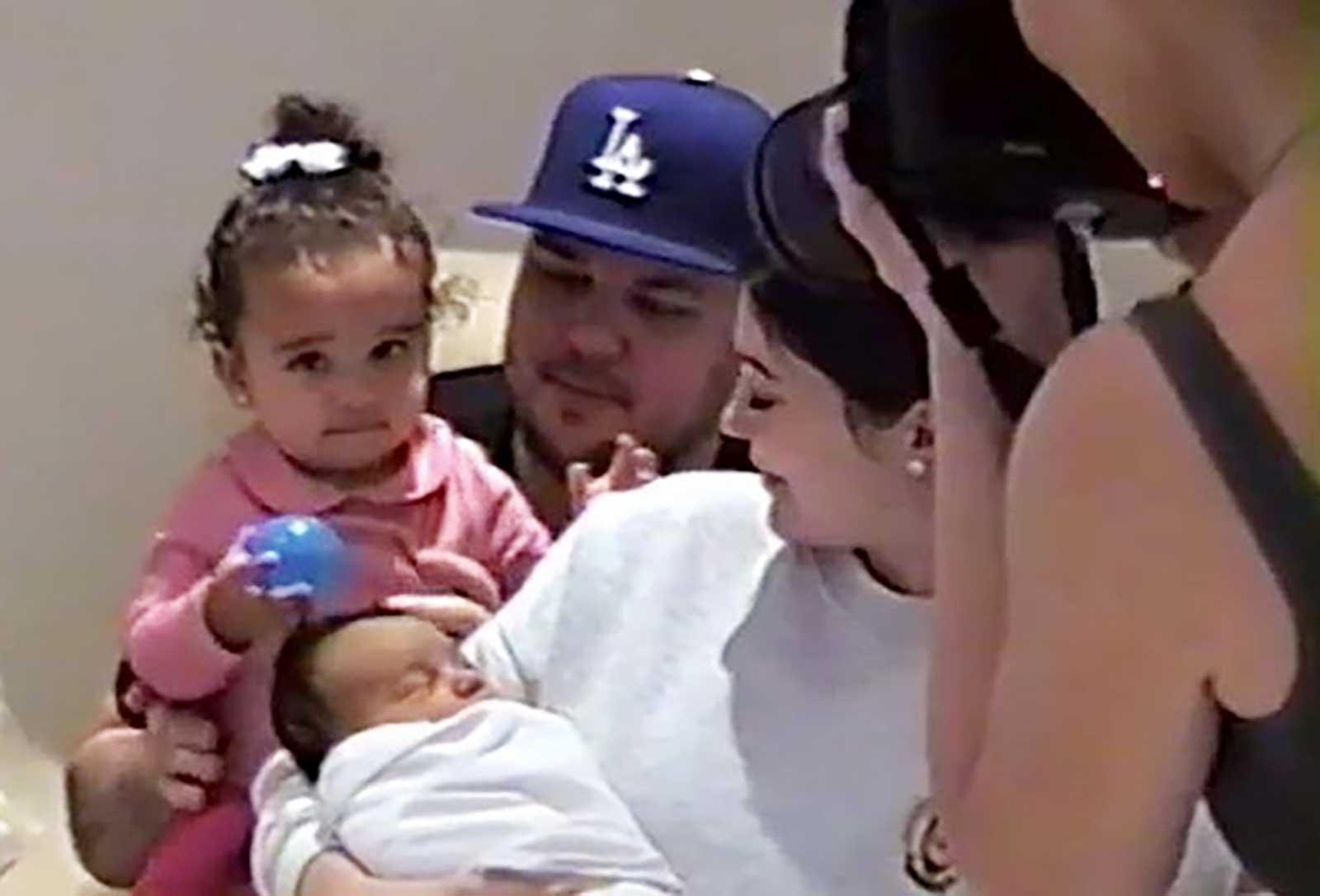 Dream Kardashian, Robe Kardashian, Kim KArdashian, Kylie Jenner, Chicago West