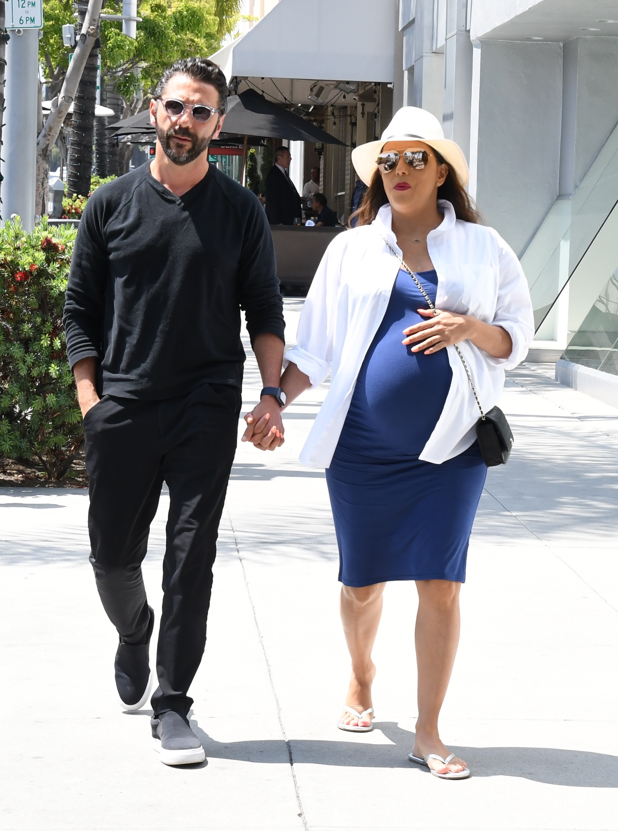 Eva Longoria, estilo, embarazo