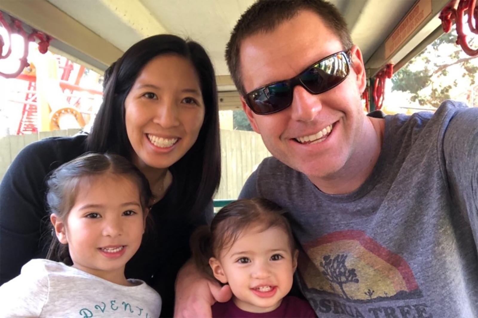 Tristan Beaudette y su familia