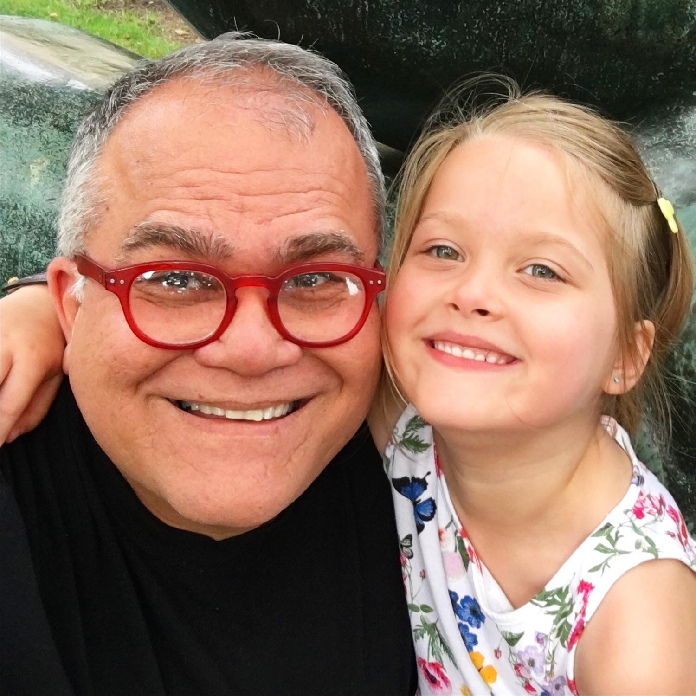 Armando Correa y su hija Anna