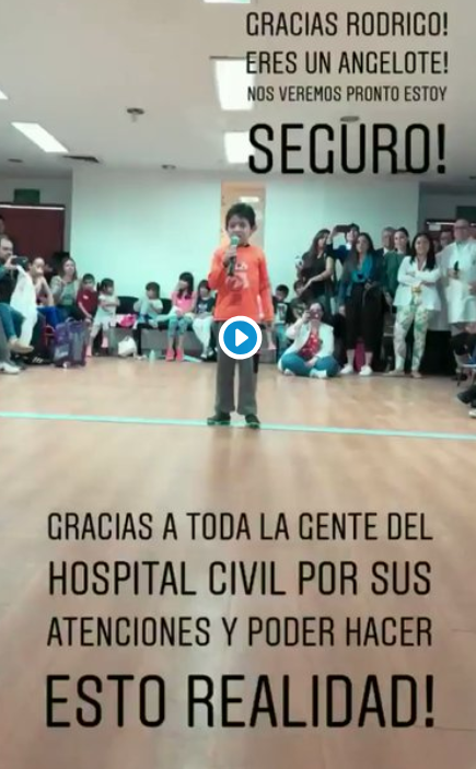 Chicharito niños hospital