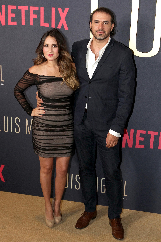 Dulce María y su novio Paco Alvarez