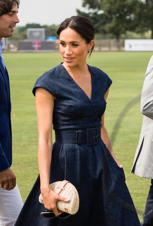 Meghan Markle, looks, polo match