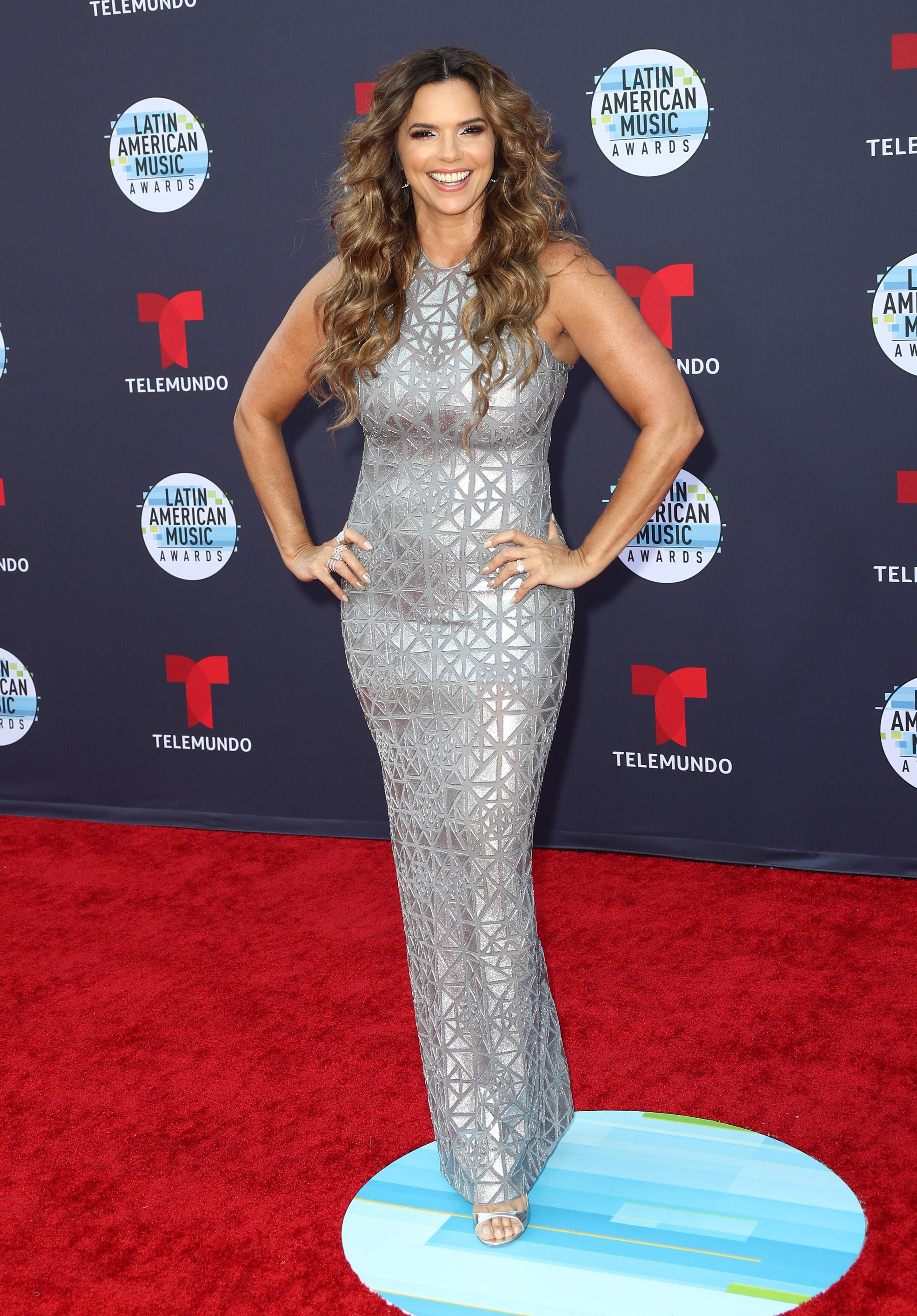 Rashel Díaz en 2018 Latin American Music Awards