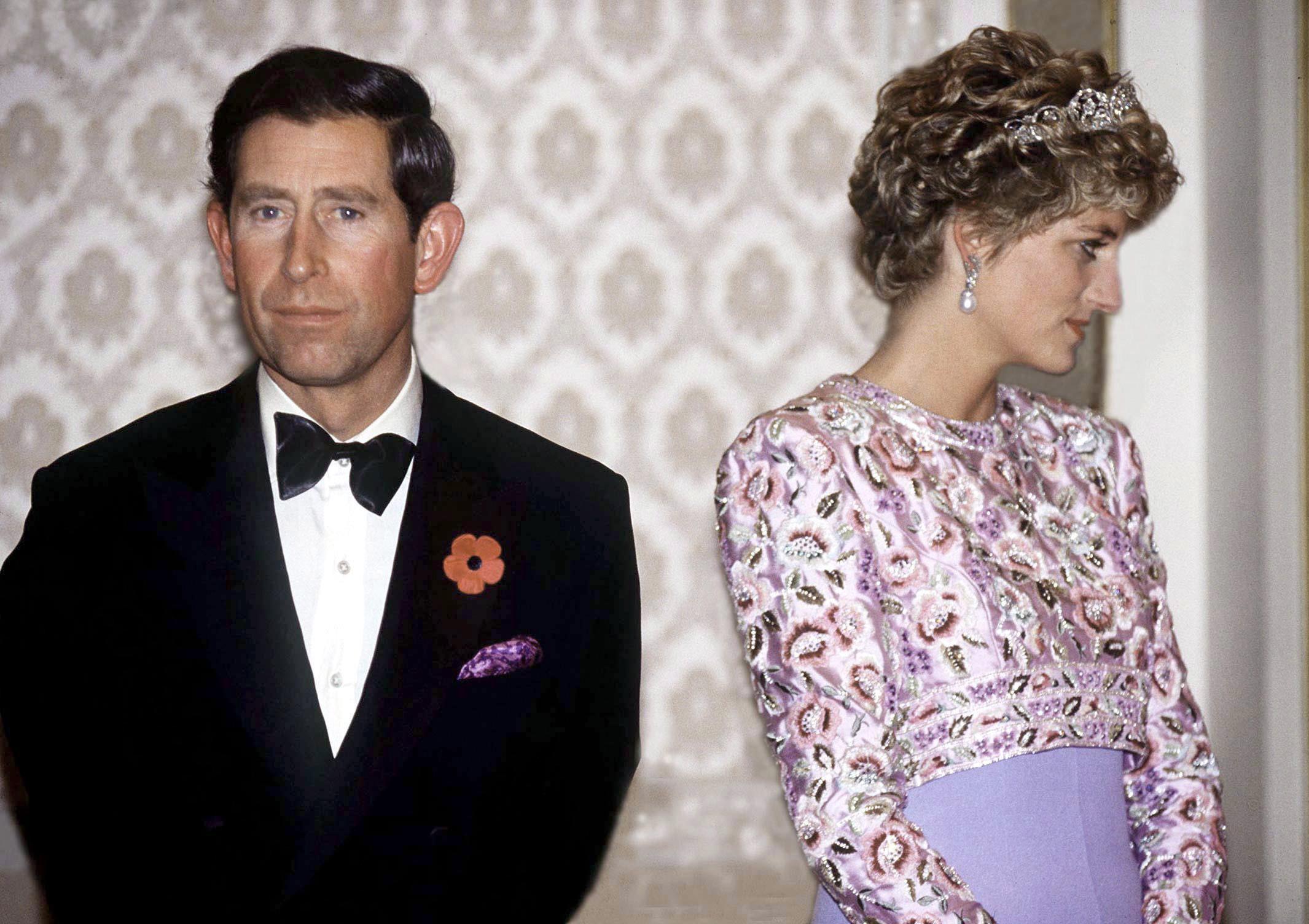 Princasa Diana, Príncipe Carlos