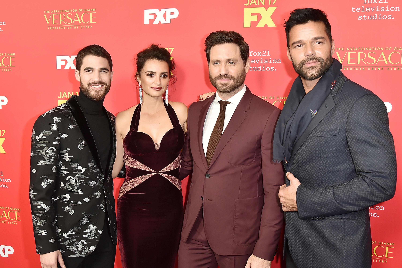 Penelope Cruz, Edgar Ramírez, Ricky Martin
