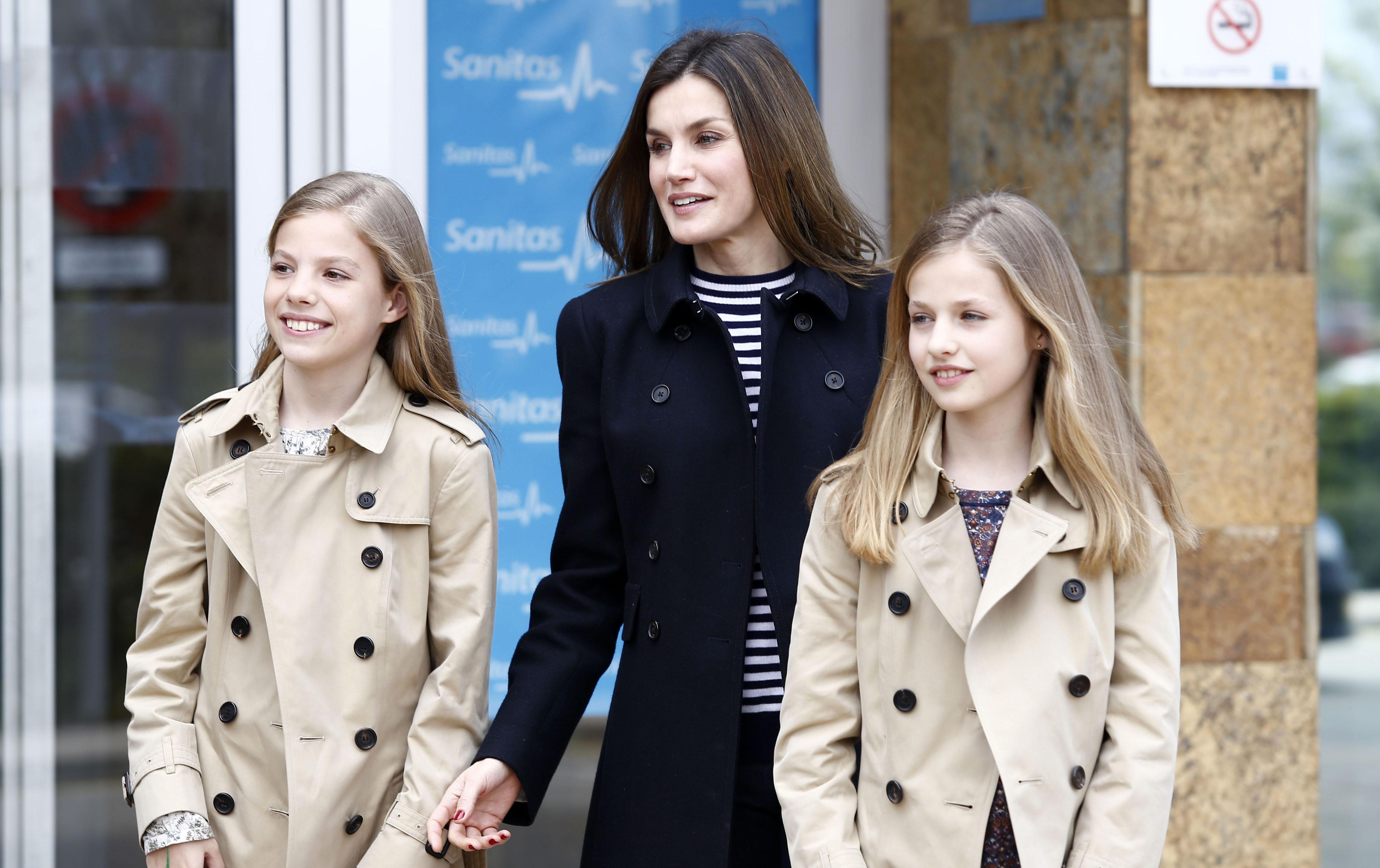Reina Letizia, princesa Leonor, Princesa Sofía