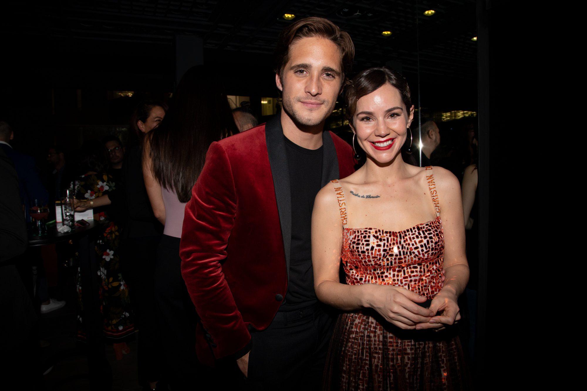 Diego Boneta y Camila Sodi