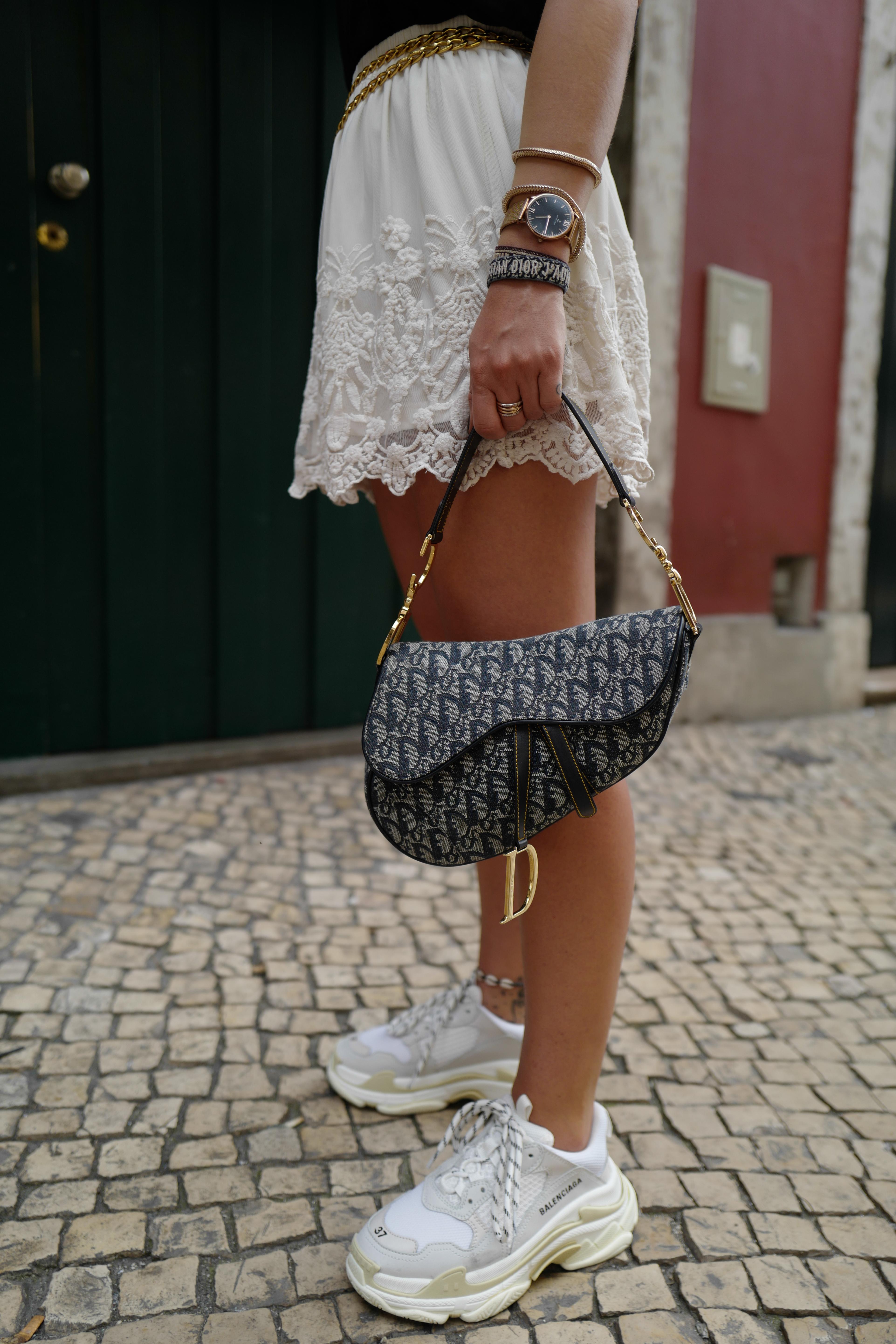 Dior, saddle bag