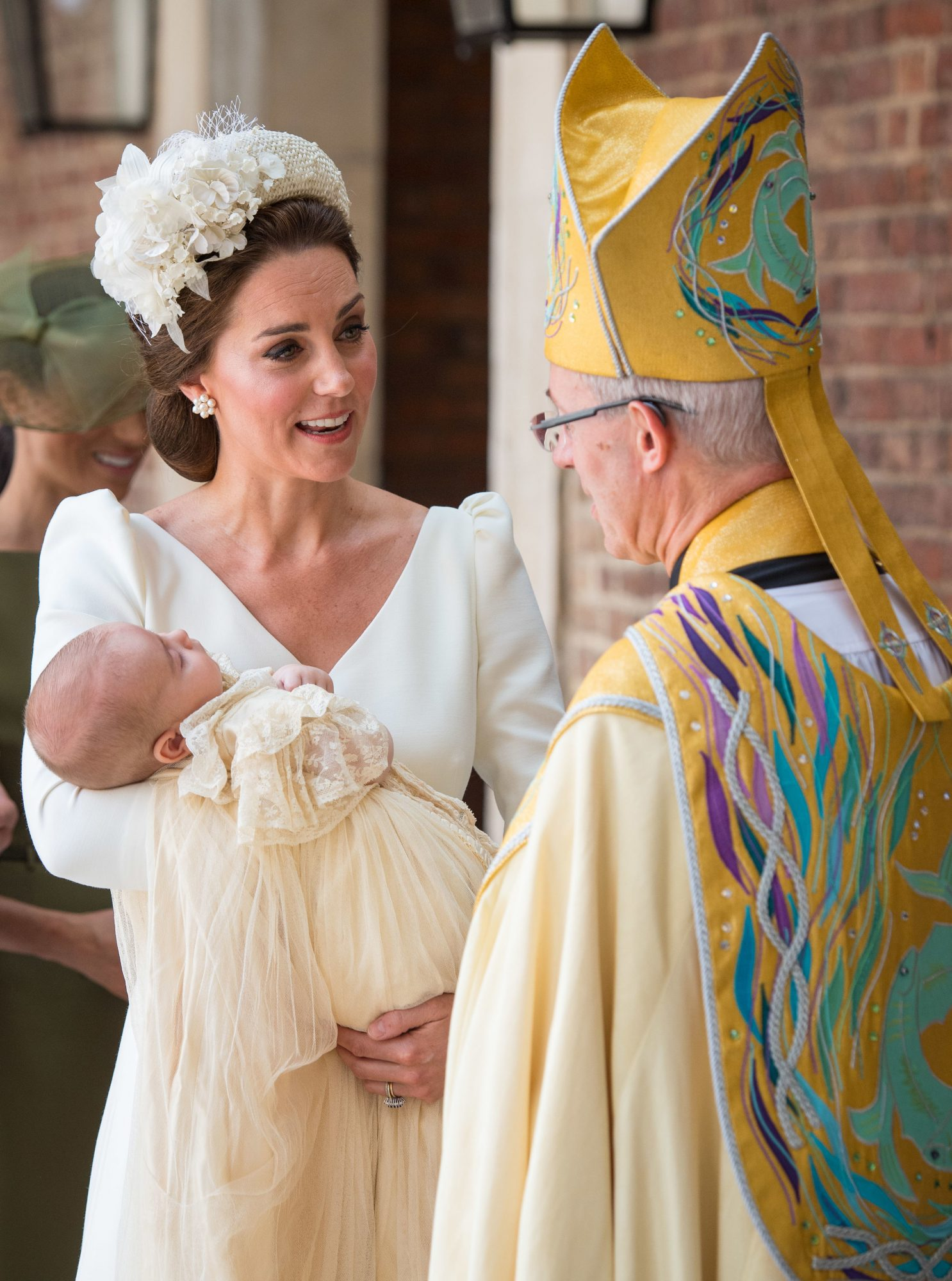 Kate Middleton y principe Louis