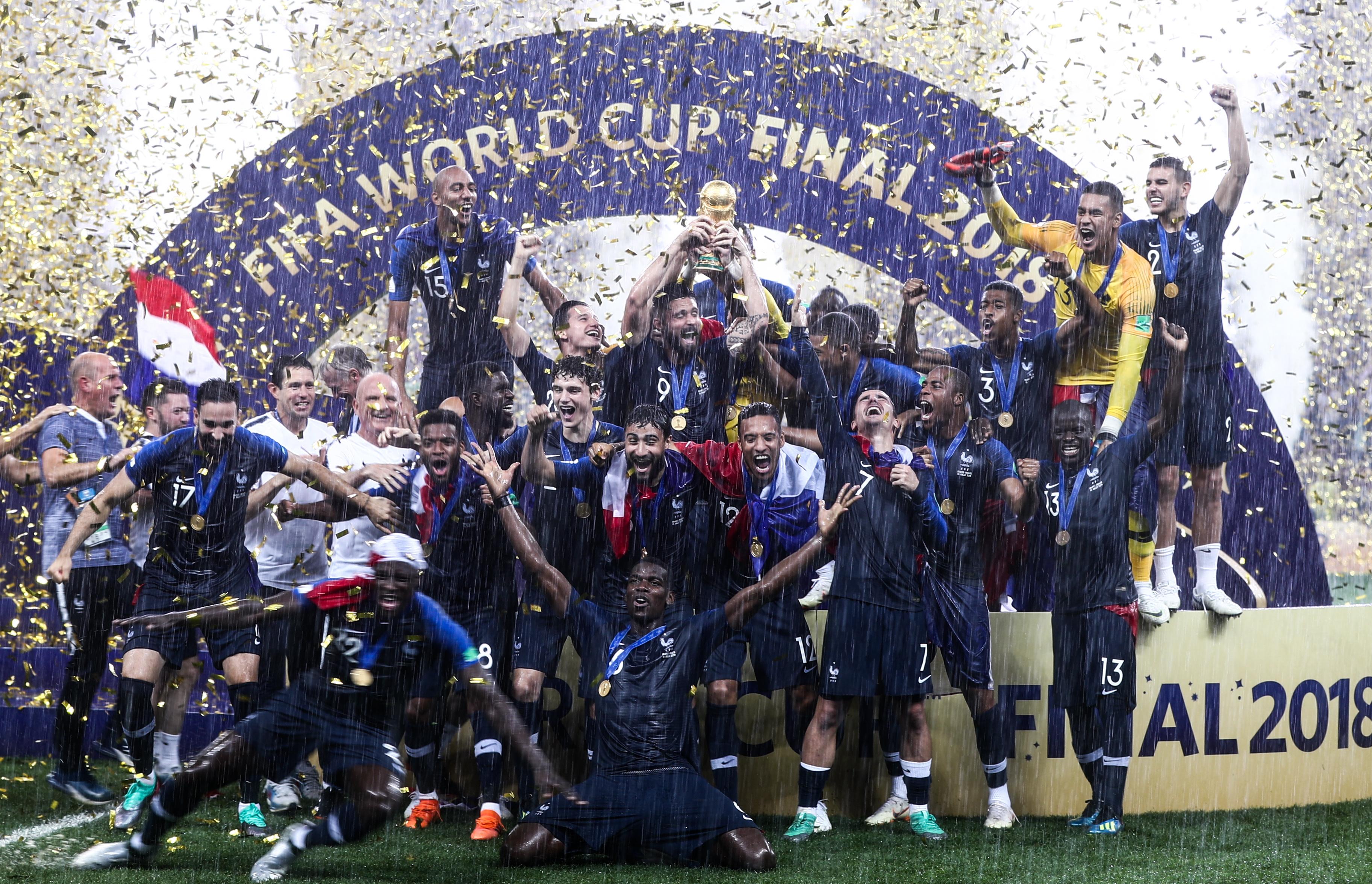 Francia gana el Mundial de Rusia 2018