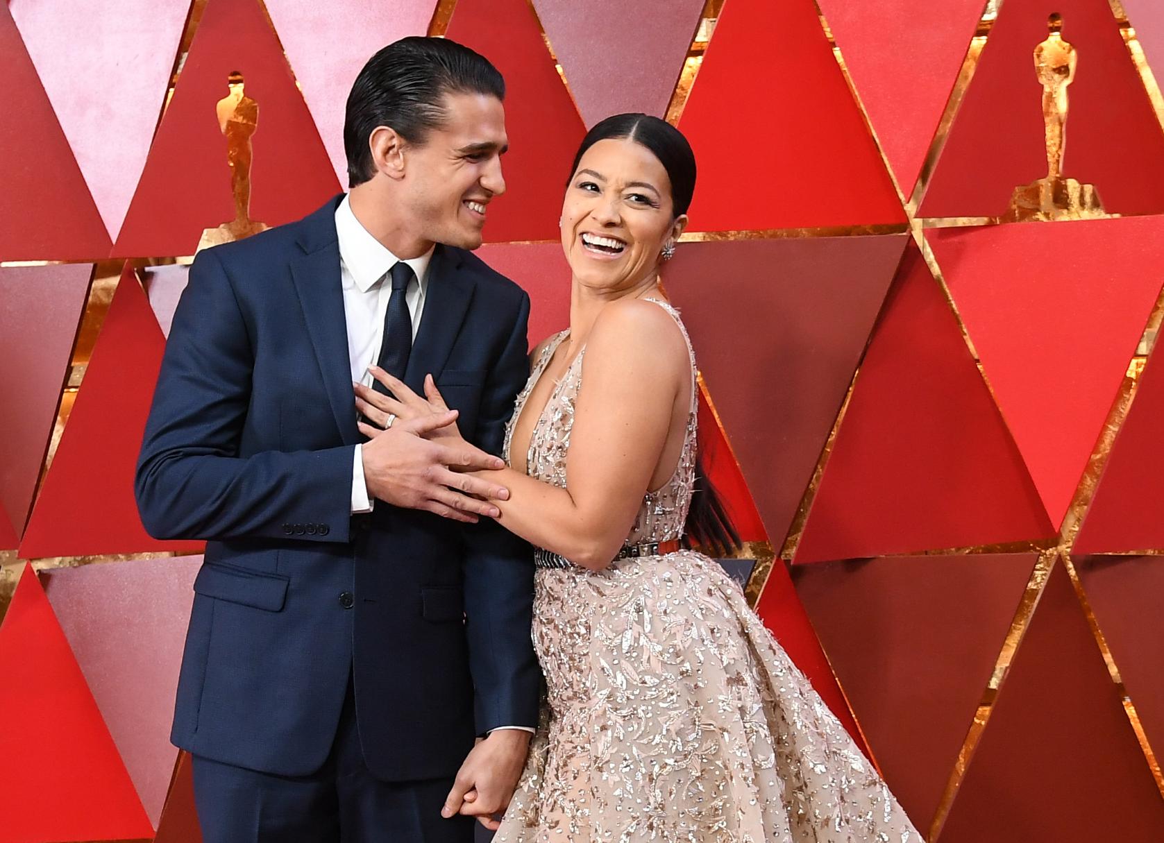 Joe LoCicero y Gina Rodríguez
