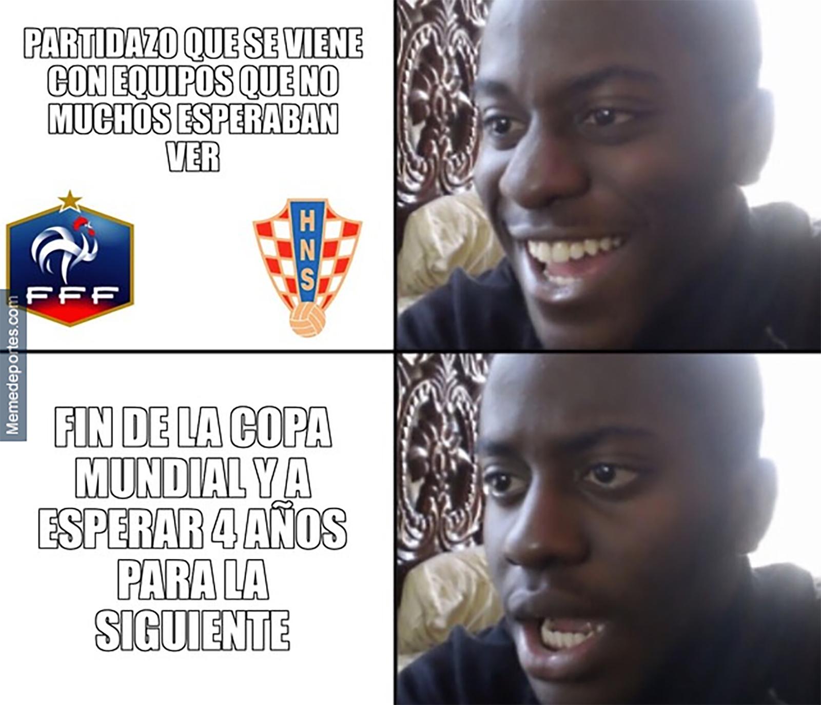Memes final del Mundial Rusia 2018
