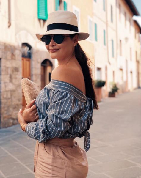 Chiquinquirá Delgado vacaciones Italia e Ibiza
