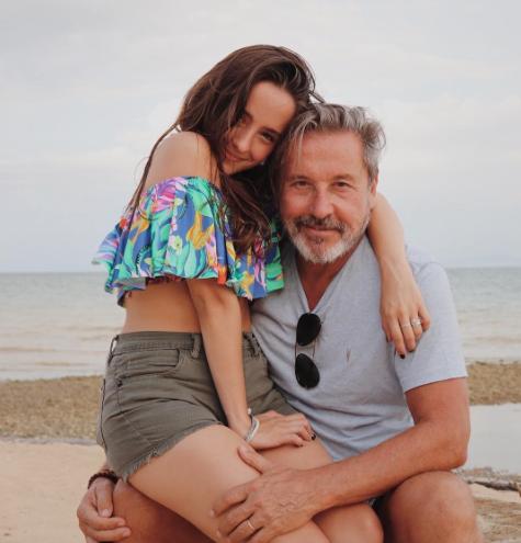 Ricardo Montaner y su hija Eva Luna