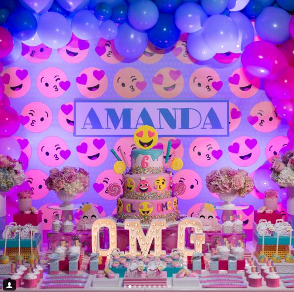 Cumpleaños Amanda, hija de Karla Monroig y Tommy Torres