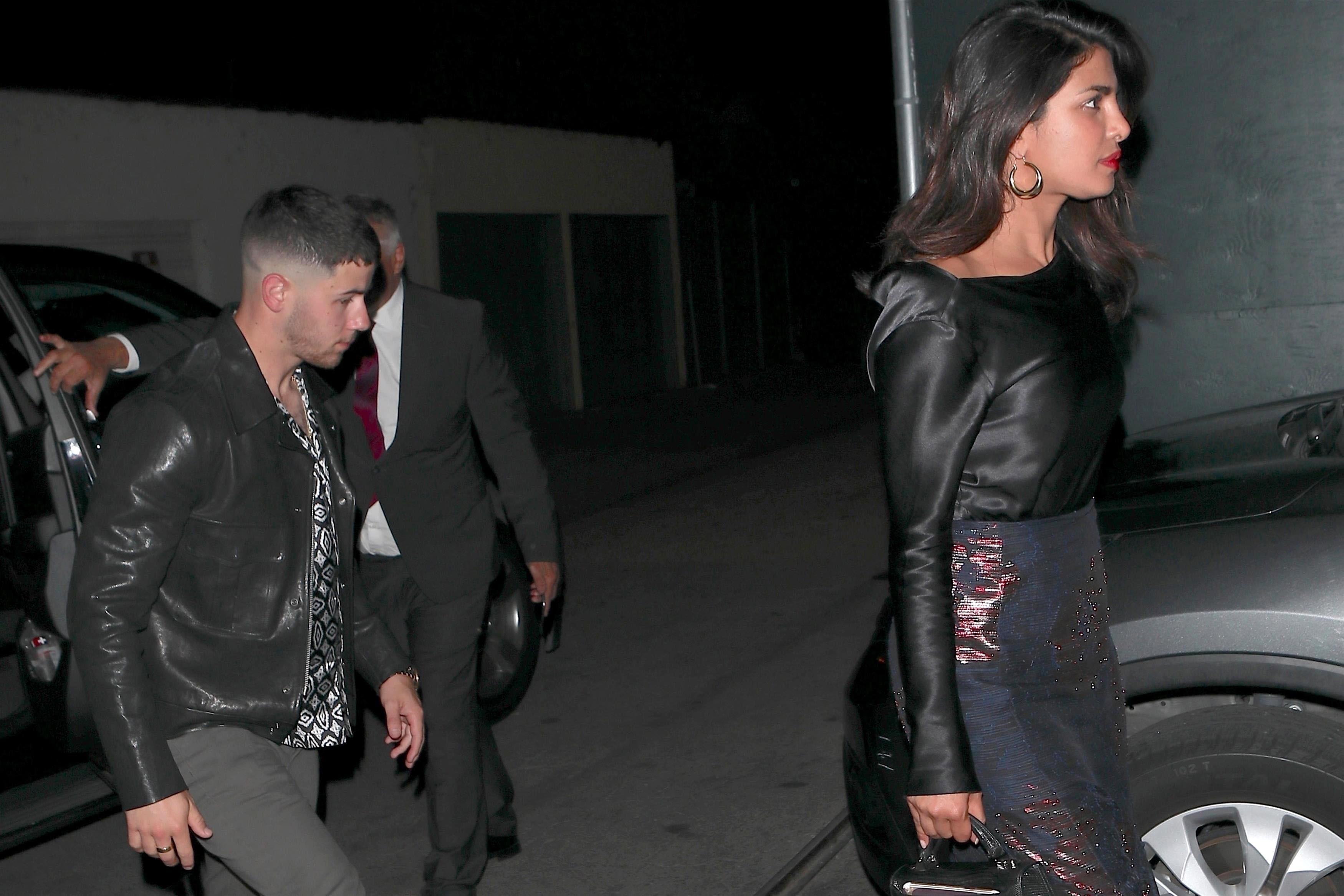 Nick Jonas , Priyanka Chopra
