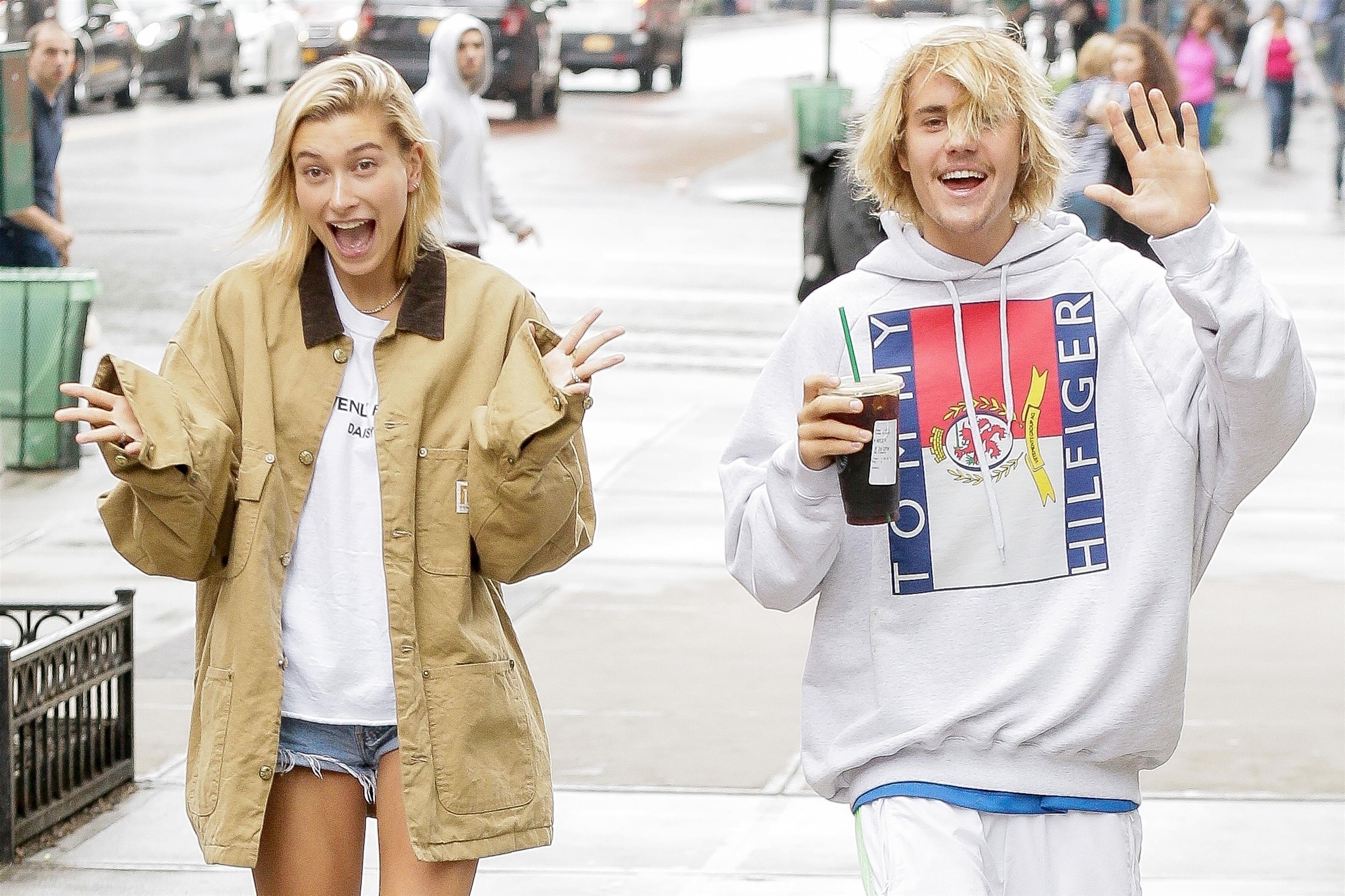 Justin Bieber , Hailey Baldwin