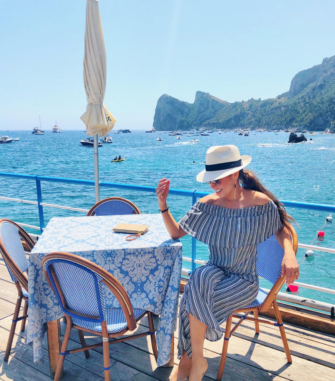 vacaciones de famosos en italia 1