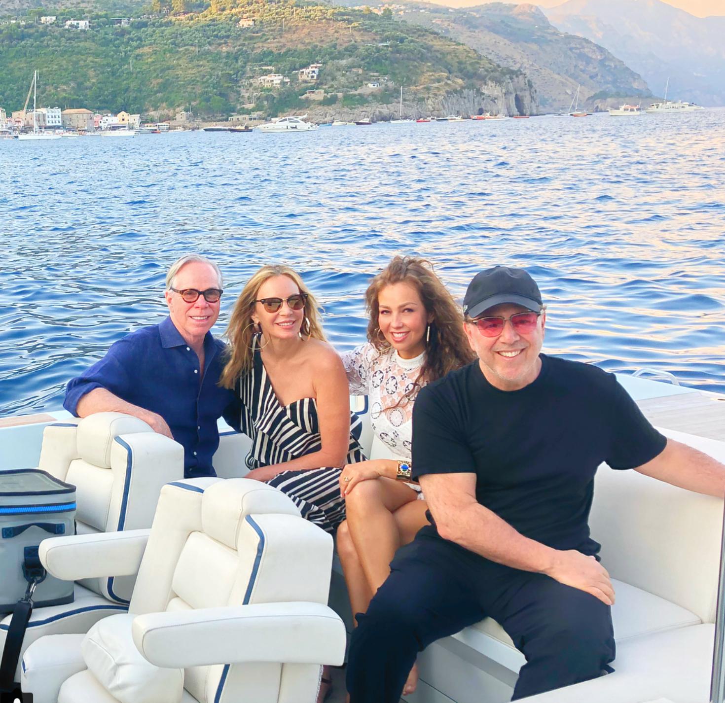 vacaciones de famosos en italia 2