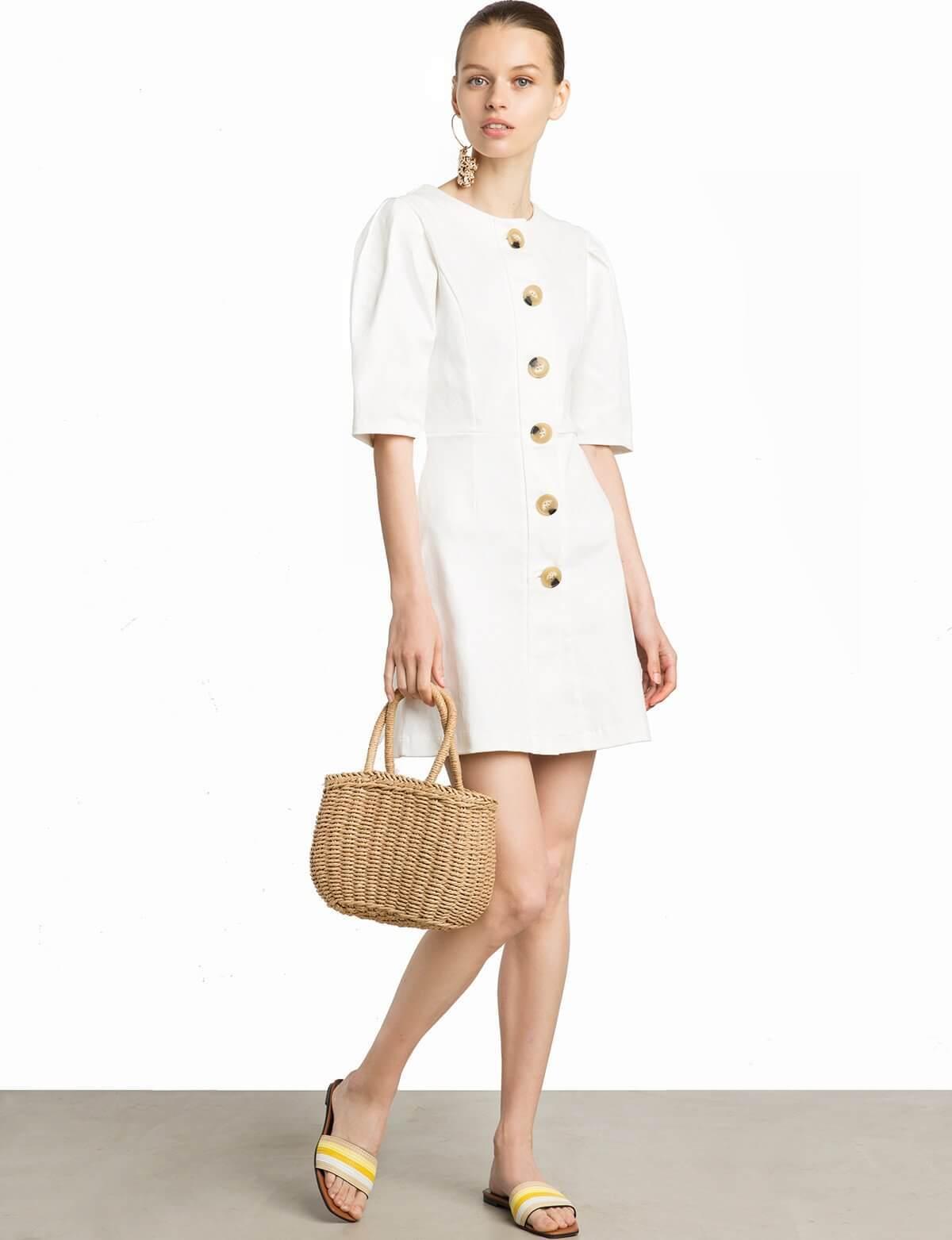 vestidos blancos, famosas, look