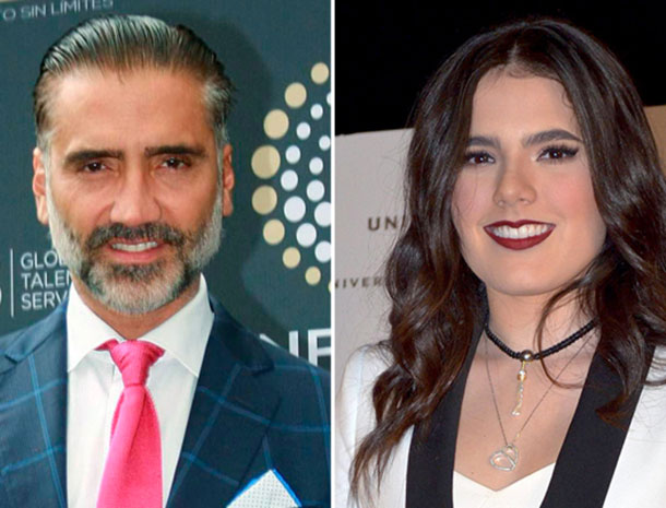 Alejandro Fernández y Camila Fernández
