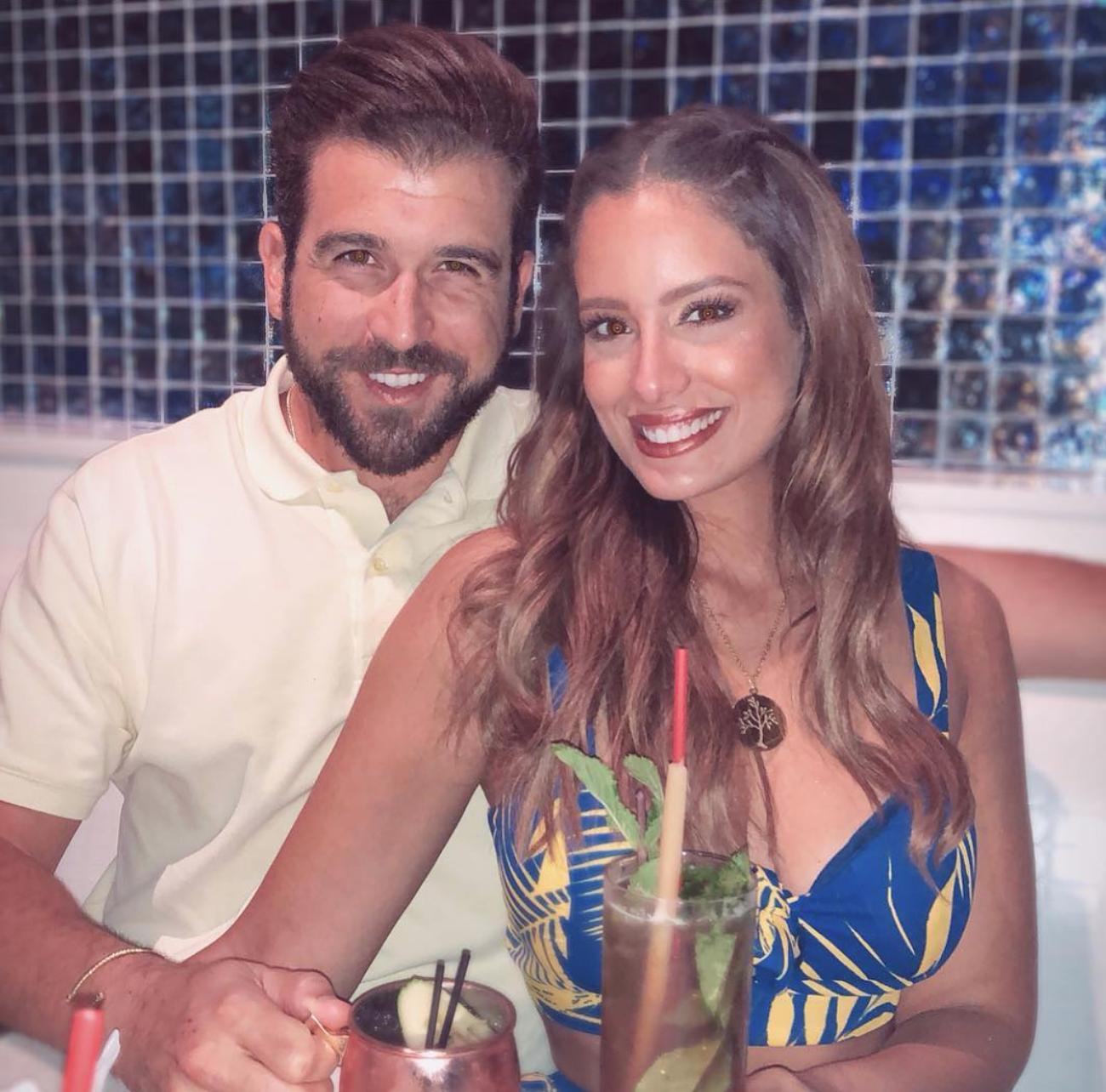 Aleyda Ortiz y su novio Ricardo Casanova