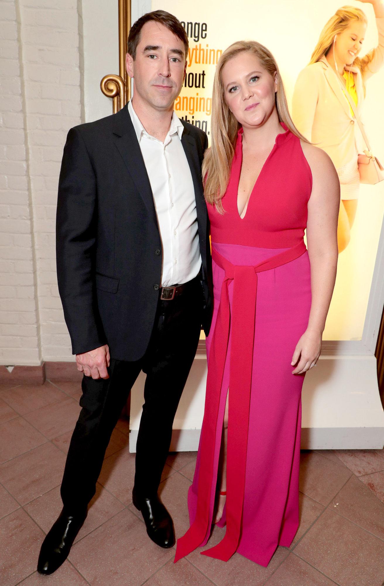 Amy Schumer y Chris Fischer