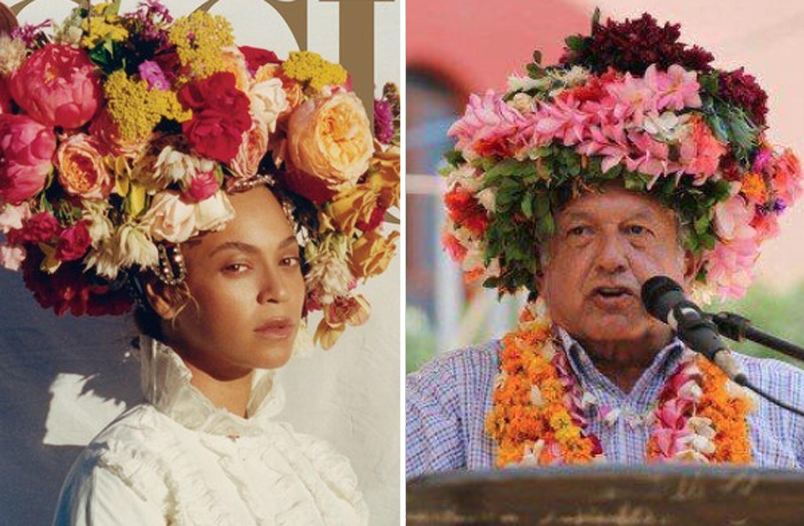 Beyoncé y AMLO