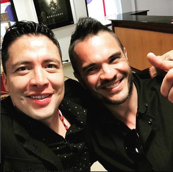 Kuno Becker y Armando Hernández