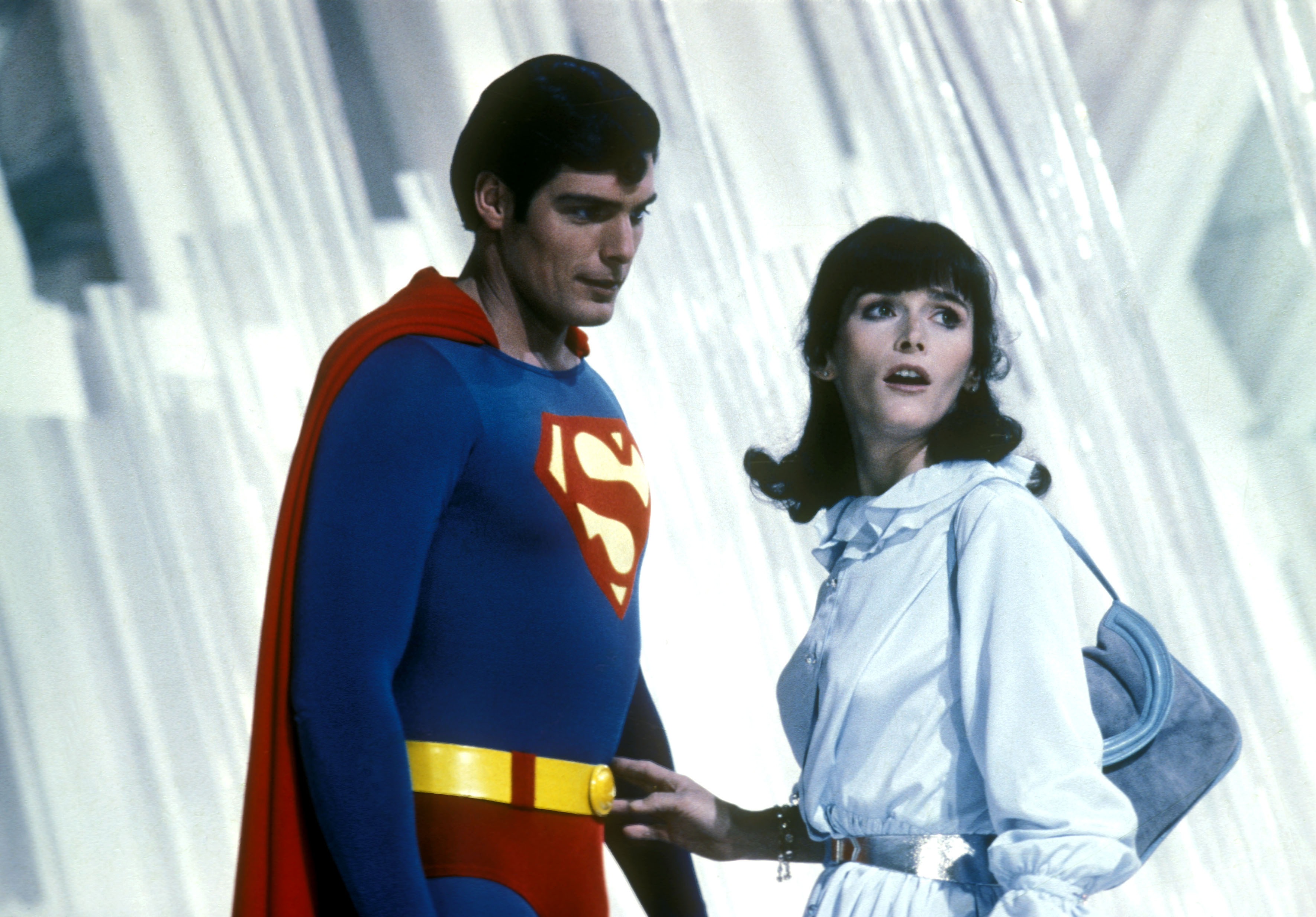 Christopher Reeve y Margot Kidder