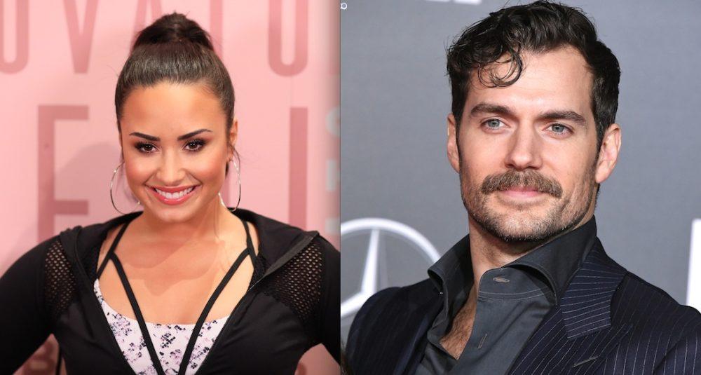 Demi Lovato y Henry Cavill
