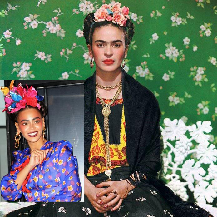 Beyoncé/ Frida Khalo