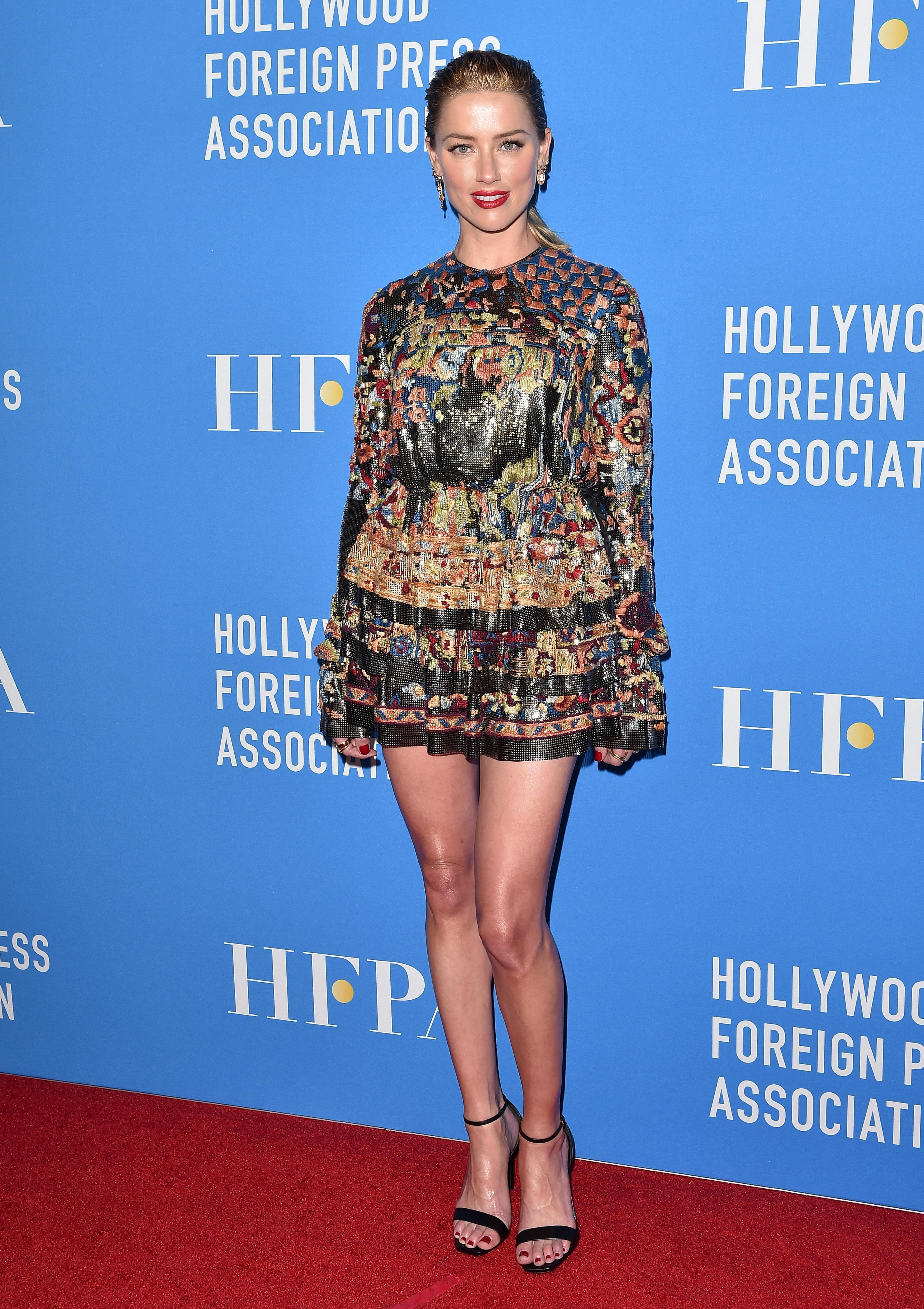 Amber Heard, looks