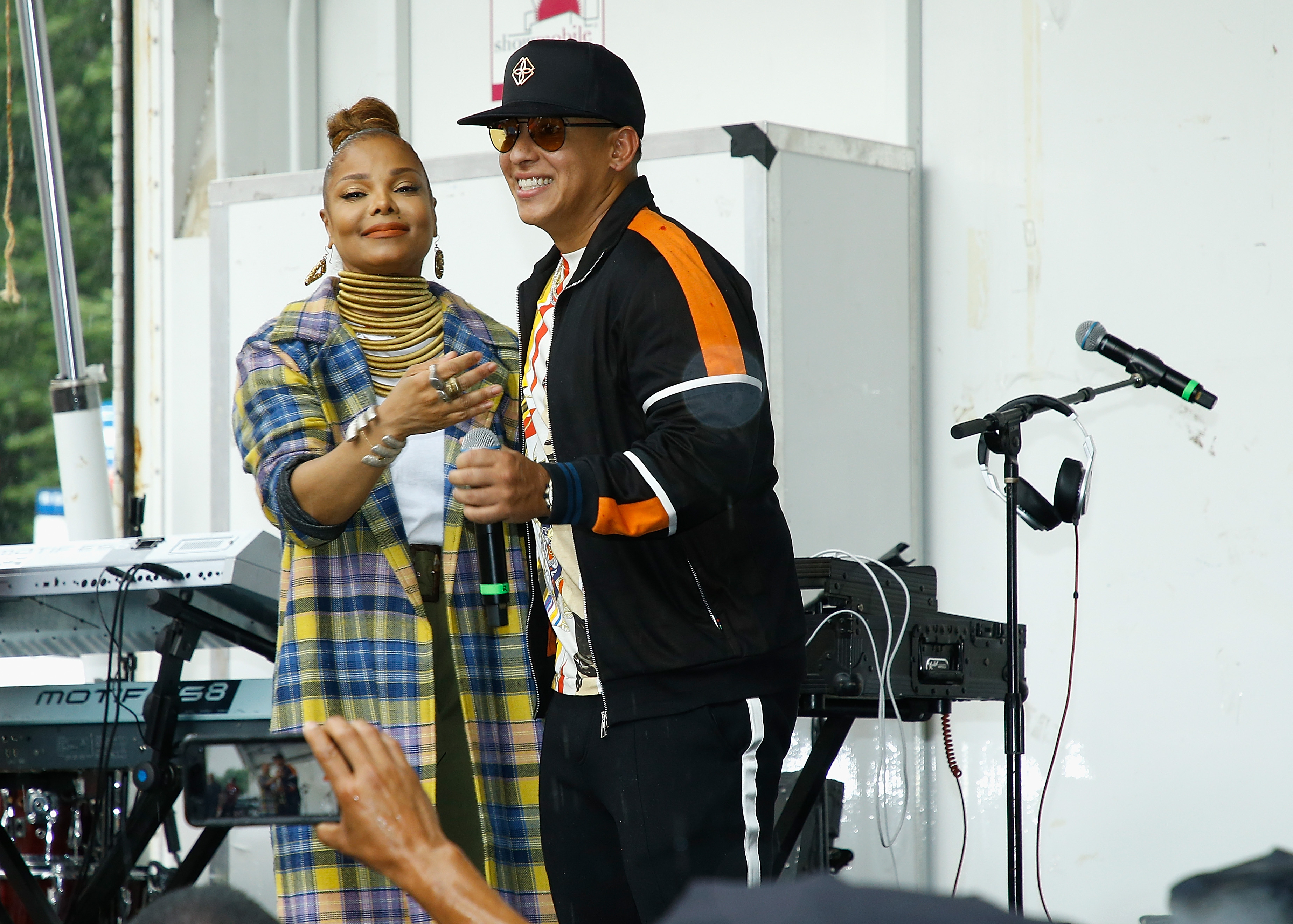 """Janet Jackson & Daddy Yankee Celebrate """"Made For Now"""" At The 44th Annual Harlem Week"""