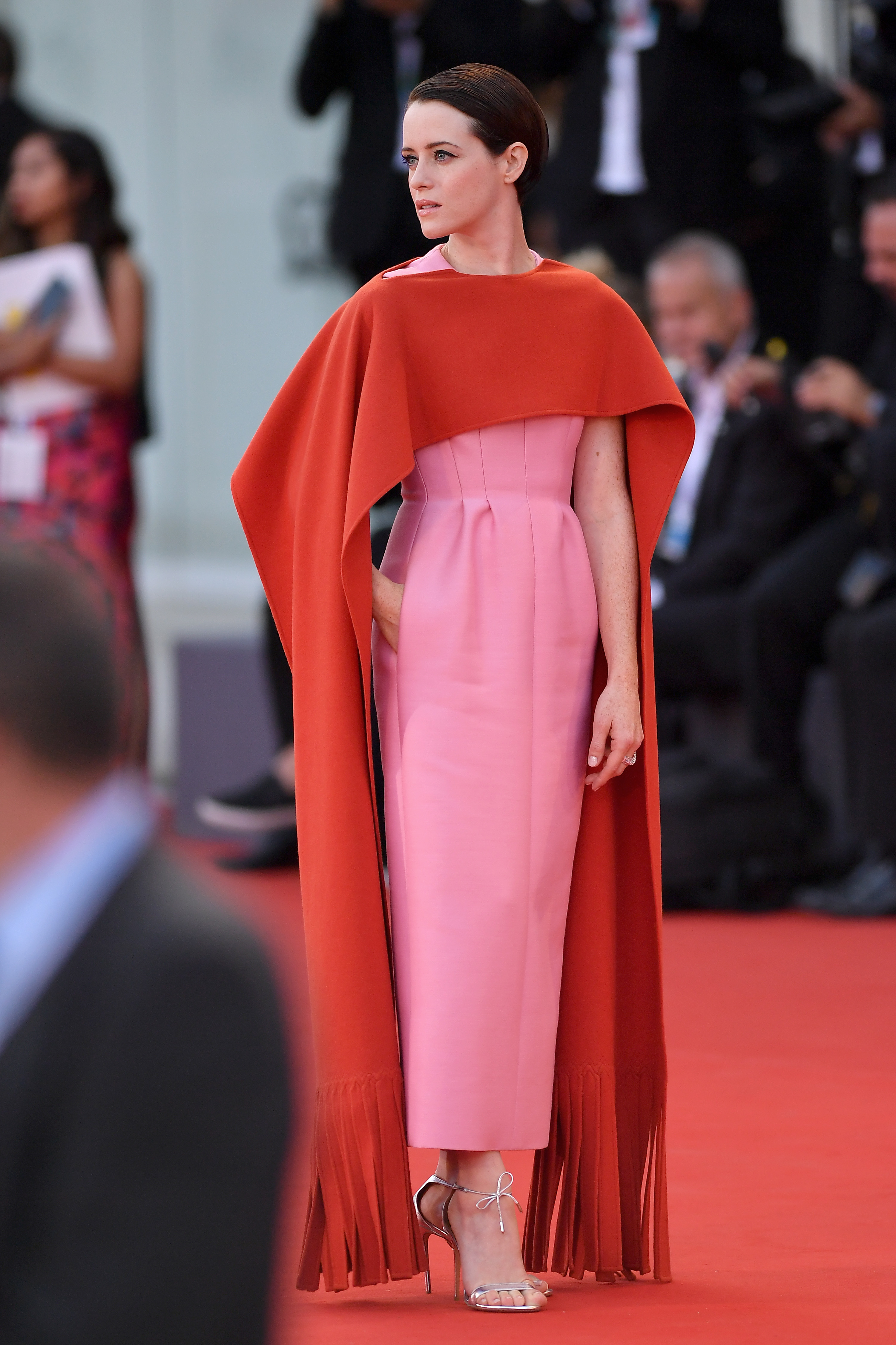 Claire Foy, looks