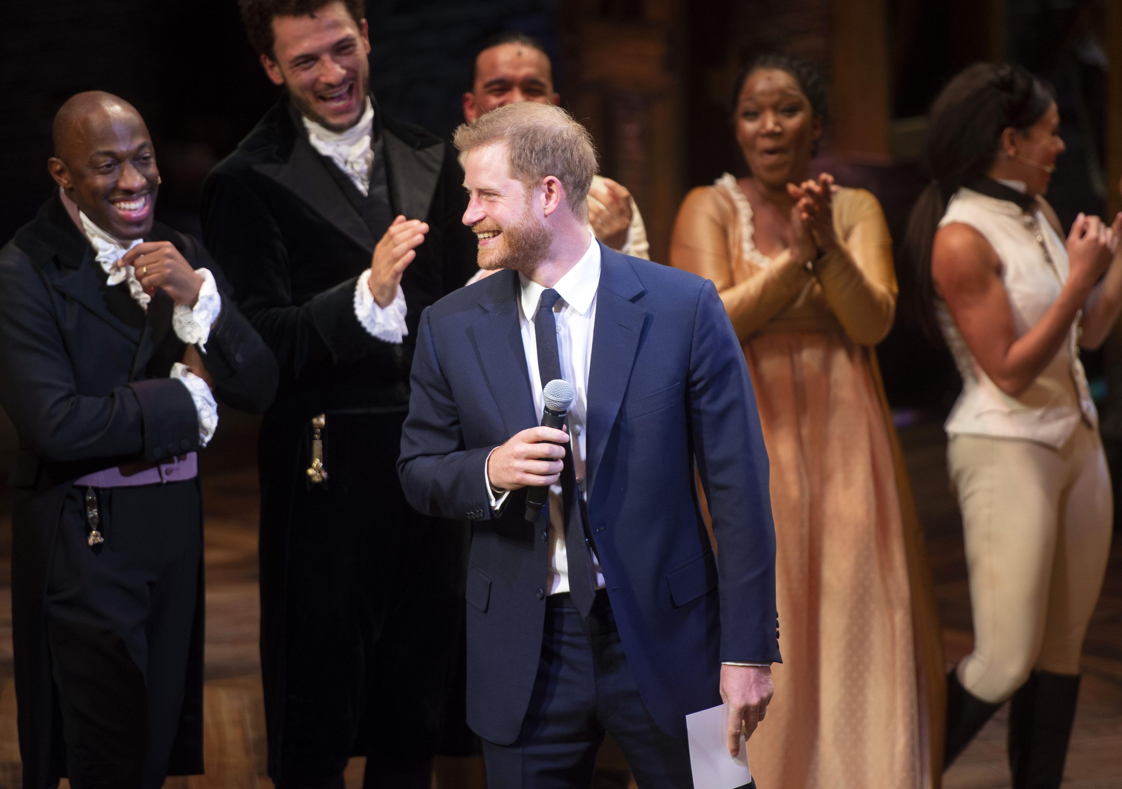 """Prince Harry en """"Hamilton"""""""