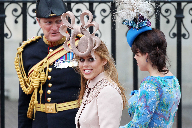 Princess Beatrice of York, fascinador, boda real