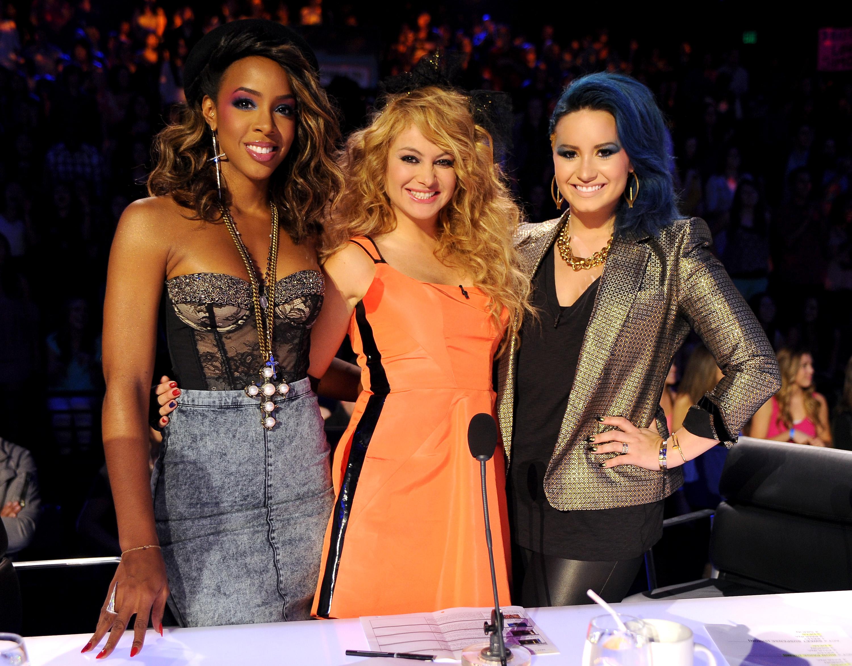 Kelly Rowland, Paulina Rubio, Demi Lovato