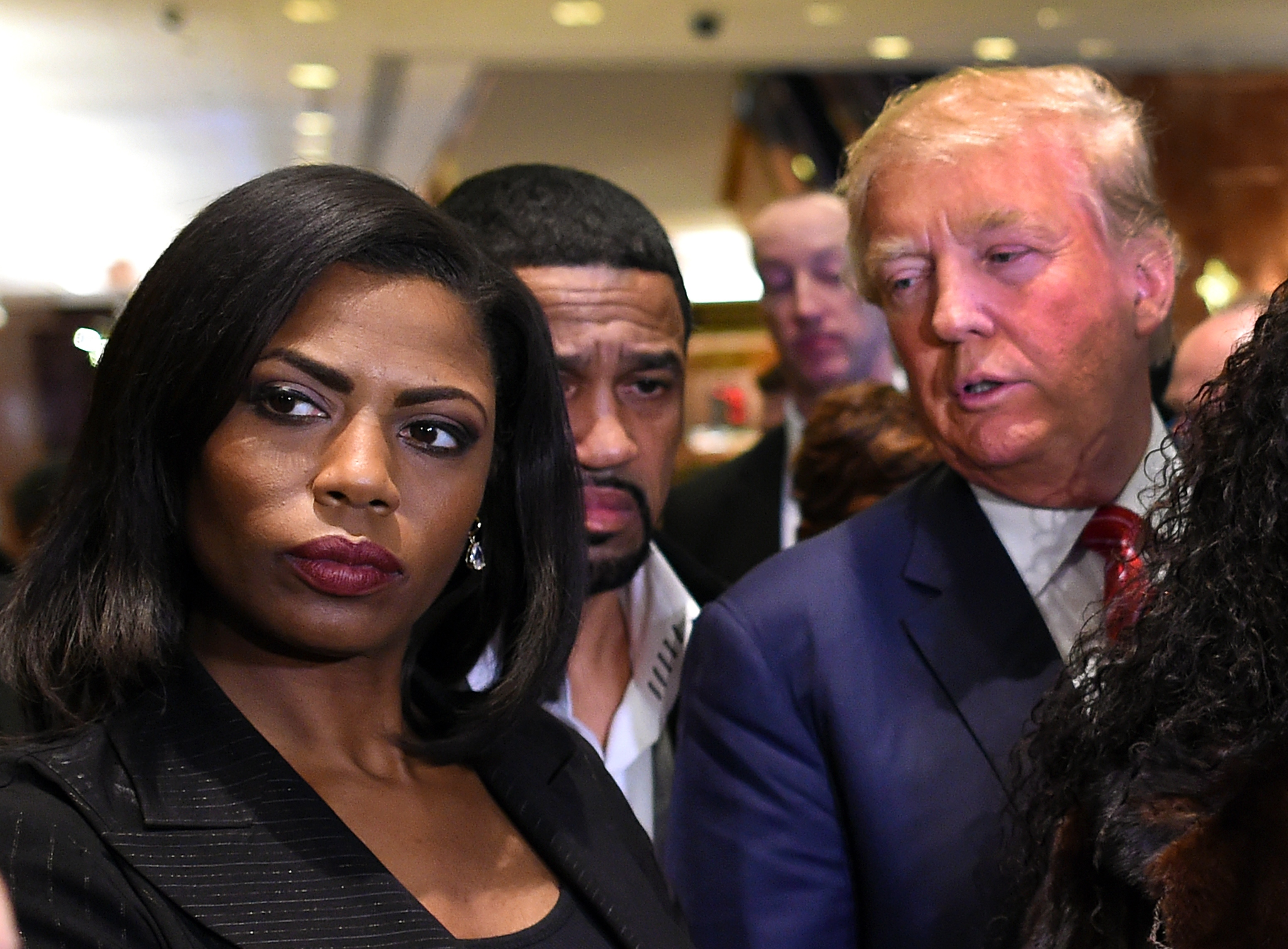 Omarosa Manigault, Donald Trump